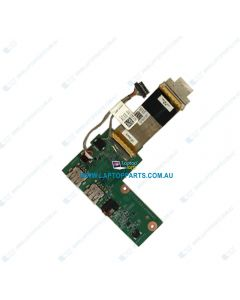 Dell Inspiron 15 7000 5577 5576 7557 7559 Replacement Laptop USB Audio Port IO Board With Cable 065WGR 65WGR USED