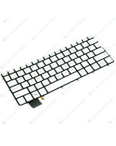 Dell XPS 13 9370 9380 Replacement Laptop White US Keyboard with Backlit 0FXCRT