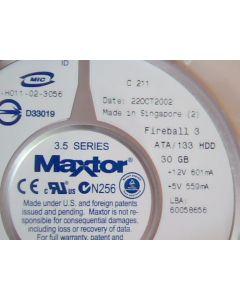 """Maxtor 40GB 3.5"""" IDE Hard Drive 294932-005 286692-001 NEW"""