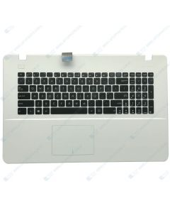 Asus R752L Replacement Laptop Upper Case / Palmrest with US Keyboard 13NB04I5P01011 (WHITE)