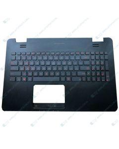 Asus G551 G551J GL551 GL551J Replacement Laptop Upper Case / Palmrest US Backlit Keyboard 13NB05T1P1901X