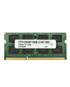 Lenovo Y570 Laptop (IdeaPad) 0862MLM SAM M471B5273CH0-CH9 DDR3 1333 4GBRAM 11011934