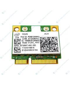 HP PAVILION DV7-3007TX VX312PA Intel 5100 802.11 a/g/n WLAN MiniCard 572507-001
