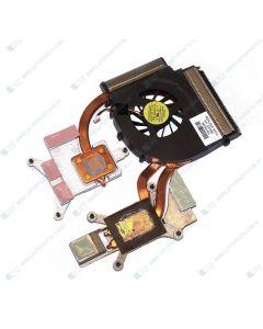 HP PAVILION DV7-3007TX VX312PA Processor fan heat sink assembly (45 watt) - For Discrete models 587244-001