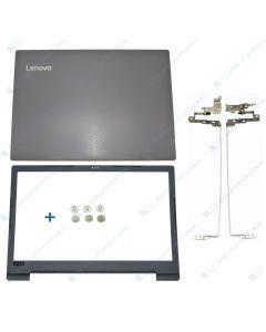Lenovo IdeaPad V130-15IGM V130-15IKB Replacement Laptop LCD Back Cover / Front Bezel / Hinges 5CB0R28213 5B30Q60099 460.DB05.0005 460.0DB20.0002 5CB0T25222