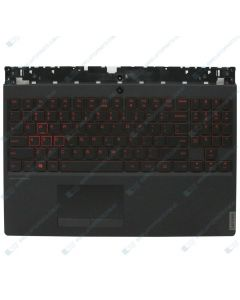 Lenovo Legion Y7000-2019 Replacement Laptop Upper Case / Palmrest with US Black Keyboard and Touchpad 5CB0U42805