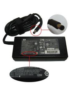 HP PAVILION DV7-3007TX VX312PA AC Smart adapter (120 watt) - 100-240VAC input, 50-60Hz, 2.5A - 18.5VDC output, 6.5A, 120 watt, PFC 613154-001