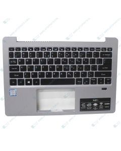 Acer Swift SF313-51 Replacement Laptop Upper Case / Palmrest with Backlit US Keyboard 6B.H3YN8.002