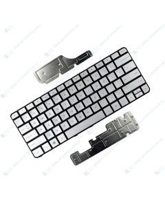 HP Spectre 13-4002DX x360 L0Q56UA Keyboard SVR ISK PT TP BL US 801508-001 GENUINE