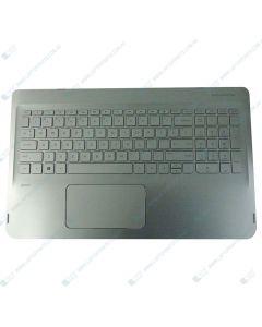 HP ENVY X360 15-W237CL X0S32UA TOP COVER NSV W/ Keyboard ISK TP BL US 807526-001
