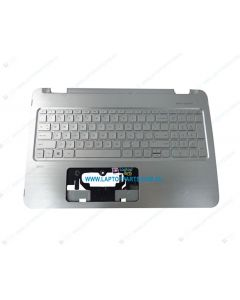 HP ENVY 15-U 15T-U Replacement Laptop Silver Palmrest with Keyboard 812879-001