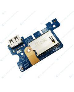 HP 15-BA038AU Z1E00PA PCBA USB BOARD 855010-001