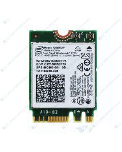HP ENVY 13-AH0000TU 4CB79PA   WLAN 11AC+BT INT 7265NV M.2 D1 MOW 901229-855