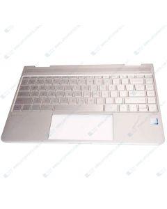 HP Spectre 13-W011TU Z4K13PA TOP COVER, W/ Keyboard NSV PT TP BL US 907335-001