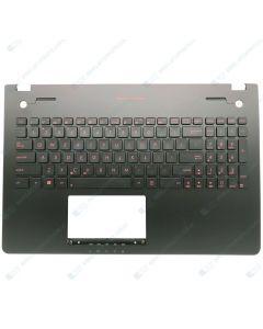 Asus G56JR G56JK N56JK Replacement Laptop Black Upper Case / Palmrest with US Backlit Keyboard 90NB03Z3-R31US0