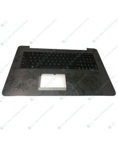 Asus A756UA Replacement Laptop Palmrest with US Keyboard 90NB0A01-R30320