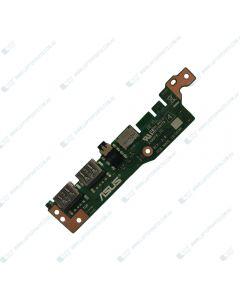 ASUS X509FA Replacement Laptop USB/AUDIO IO Daughter Board 90NB0MZ0-R10010