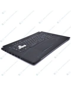 Asus ROG GL704GW GL704GV-1A Replacement Laptop Uppercase / Palmrest with Keyboard 90NR01Y1-R30US0
