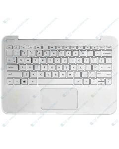 HP Stream 11-AH100 4WW12PA Replacement Laptop Upper Case / Palmrest with US Keyboard 910459-001