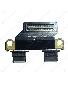 """Apple MacBook Air 13.3"""" A1932 Mid 2019 Replacement Laptop DC Jack Cowling USB-C I/O Board 820-01161-A 923-02875"""