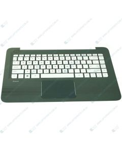 HP Stream 14-CB100 4AL70UA Replacement Laptop Upper Case / Palmrest with US Keyboad 933583-001