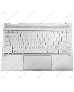 HP Spectre X360 13-AE TPN-Q199 Replacement Laptop (NSV) Upper Case / Palmrest with Keyboard and Touchpad 942041-001