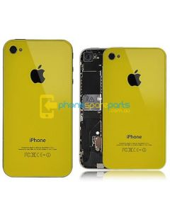 Apple iPhone 4S back cover Yellow - AU Stock