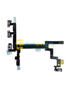 Apple iPhone 5 power volume mute button flex cable - AU Stock