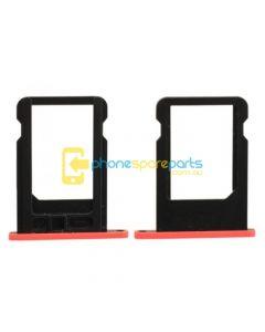 Apple iPhone 5C Sim Card Tray Red - AU Stock