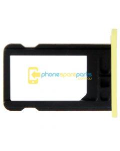 Apple iPhone 5C Sim Card Tray Yellow - AU Stock