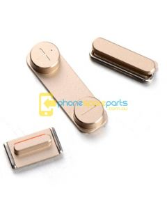 Apple iPhone 5S power volume mute buttons Golden - AU Stock