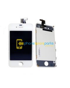 Apple iPod 4 / 4G Replacement LCD Assembly (White)