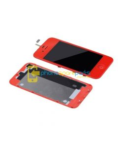Apple iPod Touch 4 / 4th Gen LCD and touch screen assembly + Button Red - AU Stock