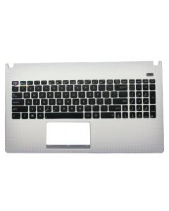 Asus X501A F501A Replacement Laptop Top Case Cover Palmrest with Keyboard 13GNMO2AP030 Used