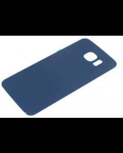 Samsung S6 Edge G925F G925I Battery Glass Back Cover Case Blue