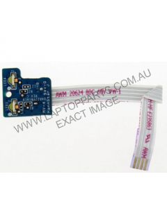 HP Pavilion G6-1205AX LED BOARD with CABLE DAR22YB16C0 USED