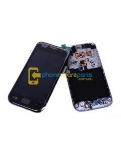 Galaxy S i9000 LCD and touch screen assembly with frame Black - AU Stock