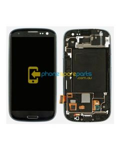 Galaxy S3 i9300 LCD and Touch Screen Assembly with Frame Black - AU Stock