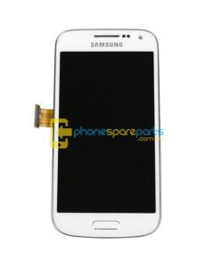 Galaxy S4 Mini i9195 LCD and Touch Screen Assembly with Frame White For Optus Phone - AU Stock