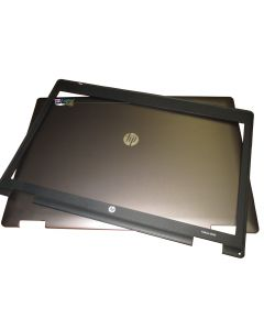 HP PROBOOK 6560b SERIES Replacement Laptop LCD BACK COVER FRONT BEZEL 641186-001