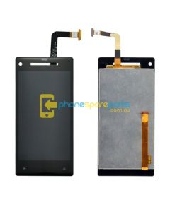 HTC 8X C620e Display Assembly Screen and touch without frame BLACK