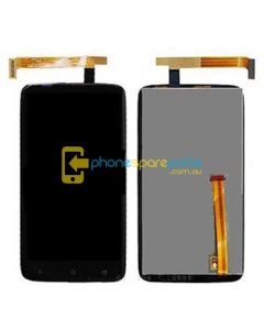 HTC One XL LCD and touch screen assembly with frame Genuine Sony Version - AU Stock