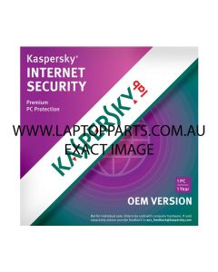KASPERSKY LAB Internet Security 1 PC 1 Year OEM VERSION NEW
