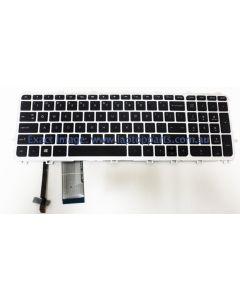 HP Envy Touchsmart 15 F2C99PA E6E99PA F0B76PA 15-J007AX 15-J008AX 15-J051TX Replacement Laptop Keyboard 711505-001 720244-001