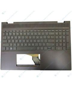 HP 15-CH003TX 3WP33PA TOP DAS KBL-G W/ Keyboard BL DAS US L15587-001