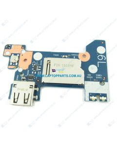 HP 14-CK0000 3PX20LA Replacement Laptop CARD READER with USB Board and Power Button L23196-001