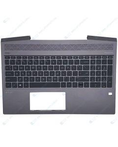 HP ZBook 15v G5 3R347US Mobile Workstation Replacement Laptop Upper Case / Palmrest with US Keyboard L25111-001