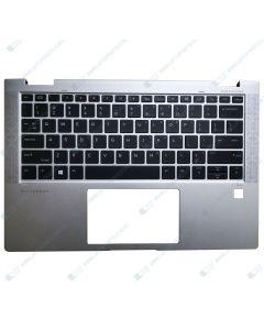 HP EliteBook x360 1030 G3 6QH97US Replacement Laptop Upper Case / Palmrest with US Backlit Keyboard L31882-001 GENUINE