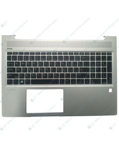 HP ProBook 450 G6 6BF78PA Replacement Laptop Upper Case / Palmrest with Black US Keyboard L45090-001