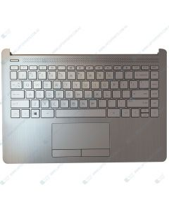 HP 14S-DK0087AU 7NL75PA Replacement Laptop Upper Case / Palmrest with US Keyboard L48648-001